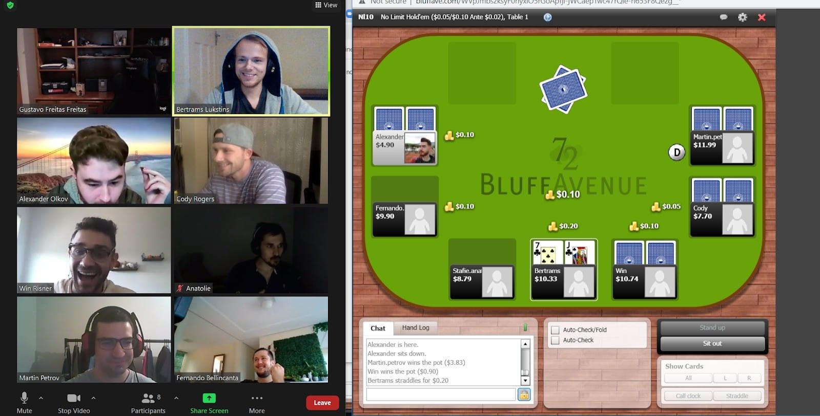 Hubstaff team poker