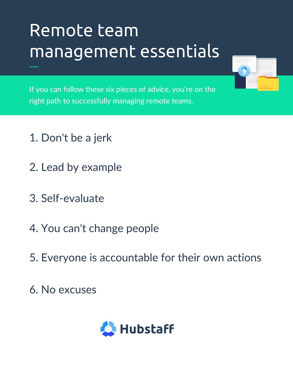 remote team management tips