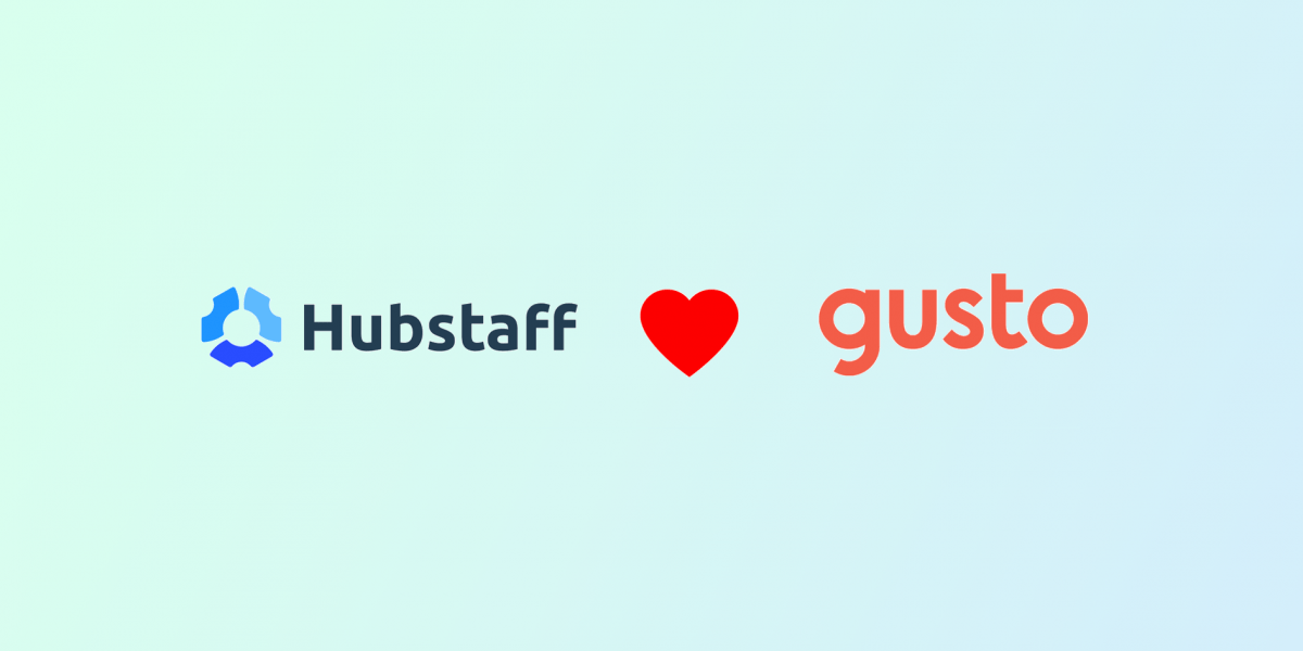 Gusto and Hubstaff Team Up to Make Payday Even Better