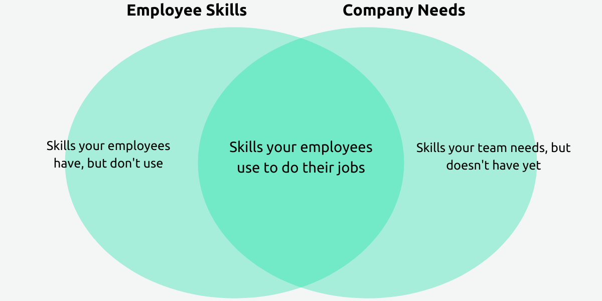 Employee skill gaps