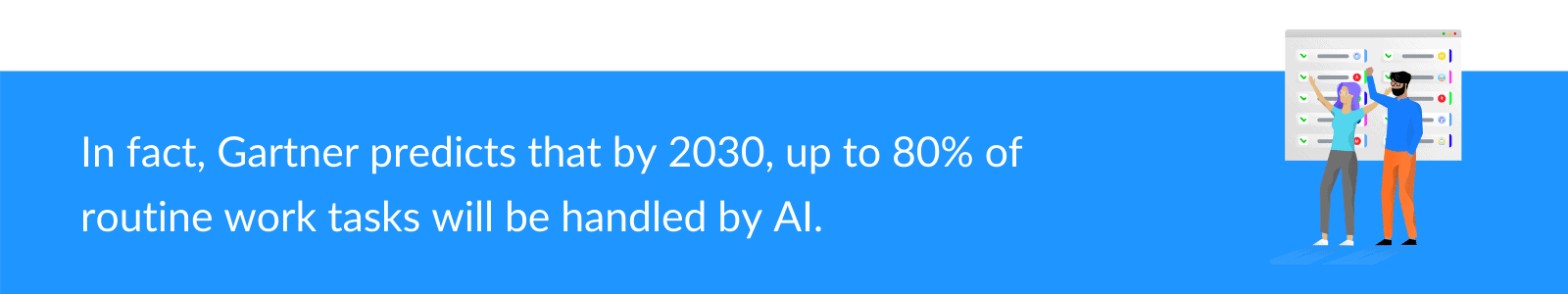 Prédiction Gartner AI