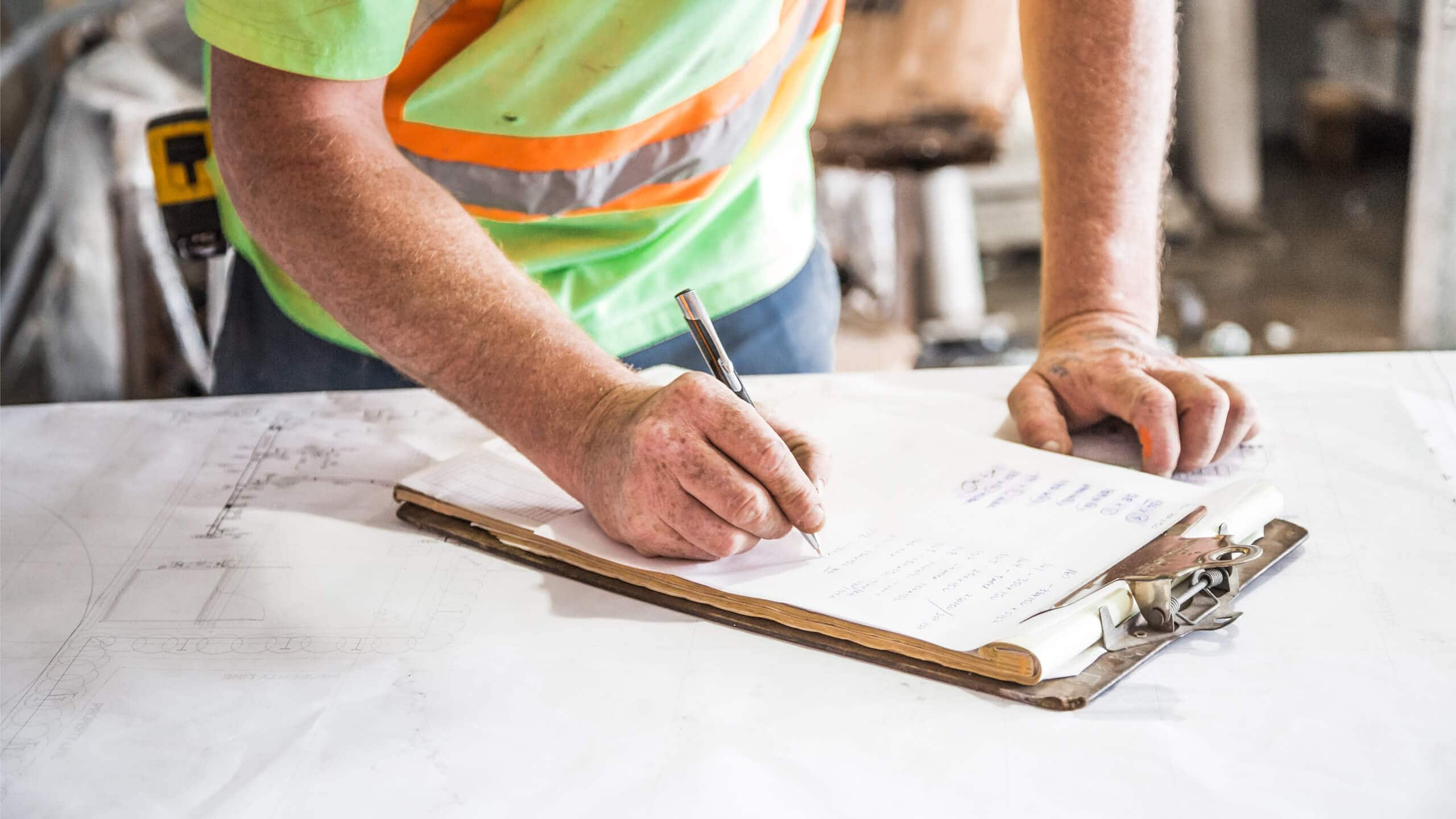 Construction punch list