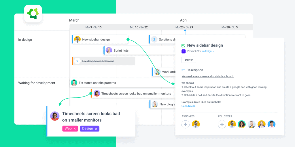 how to create a project timeline