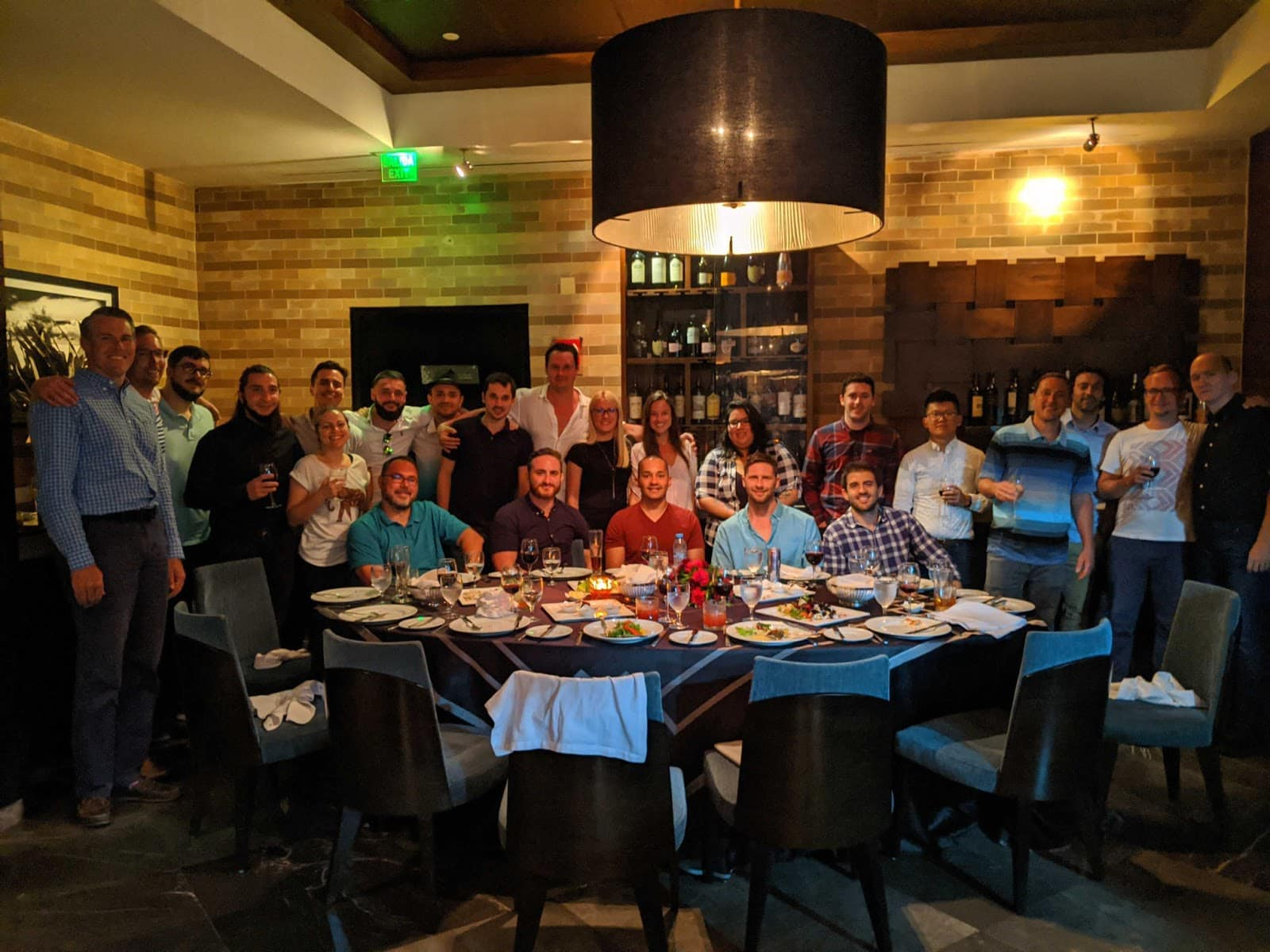 Hubstaff Cancun retreat dinner